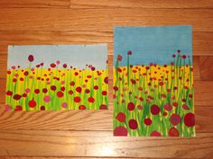 field of poppies wide or tall