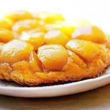 Serveras bäst varm men inte alltför het, så att smakerna verkligen får chansen att utveckla sig. Använd en riktigt god äppelsort som Cox Orange