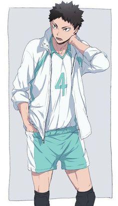 #wattpad #random Aquí podes encontrar una selección de las mejores imágenes de todas las versiones de Haikyuu!!!. Imágenes chistosas, raras, o inusuales, zuculentas, y tiernas, todo en el mismo lugar!!! {Podes hacer tu pedido si queres algún especial en particular} [Ni Haikyuu, ni ninguno de los personajes me p... Haikyuu Iwaizumi, Manga Haikyuu, Iwaoi, Nishinoya, Haikyuu Fanart, Manga Anime, Kenma, Anime Boys, Fanarts Anime