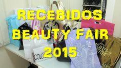 Recebidos da Beauty Fair 2015: Vult, Dailus, Bril Cosméticos, Lola, Hask...