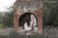 """""""Where Home is No More."""" A self portrait by Mel Quinn Shipard. Copyrighted 2014 Mel Amy Photography."""