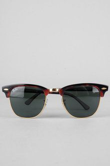 Ray-Ban Sunglasses Clubmaster Sunglasses in Tortoise