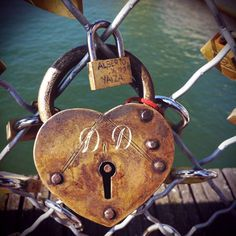 If we get married, Ben and I have a bridge over Santa Monica beach that we're going to put a love lock on.
