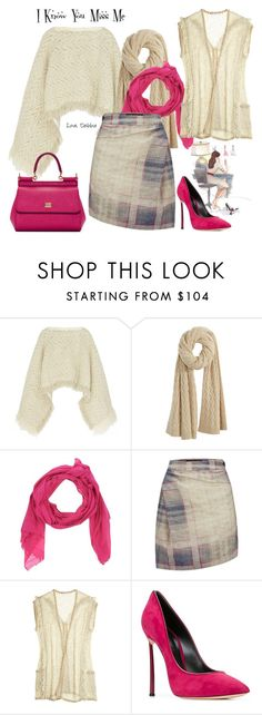 """""""I Know You Miss Me"""" by debbie-michailides ❤ liked on Polyvore featuring Sacai, Calypso St. Barth, Khadi and Co, Vivienne Westwood Anglomania, Casadei and Dolce&Gabbana"""