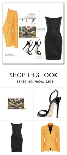 """""""Spring touch"""" by bv-b ❤ liked on Polyvore featuring Giuseppe Zanotti, Gareth Pugh, Balmain and ZoÃ« Chicco"""