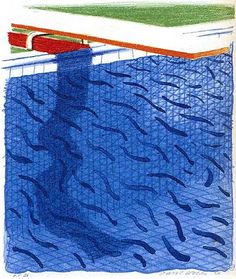 David Hockney  (Traitement de l'eau)