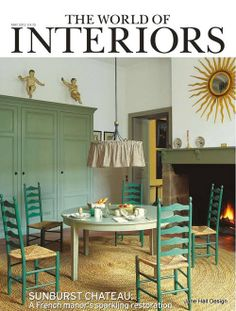 Rustic Style kitchen cottage featured in World of Interior interior design magazine