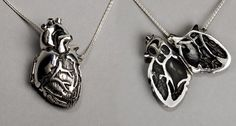 Anatomically correct heart locket, super cool