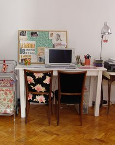 Home Office 4 Home Office, Office Desk, Be Your Own Boss, Vintage Love, Corner Desk, Sweet Home, House, Inspiration, Furniture
