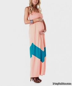 5c0226b676a Awesome teal maternity maxi dress review Check more at  http   24myfashion.com