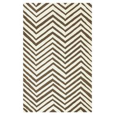 Showcasing+a+beige+chevron+motif,+this+hand-hooked+wool+rug+brings+a+pop+of+pattern+to+your+dining+room+or+den.  +  Product:+Rug