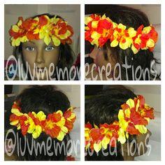 Summertime- Flower Headband