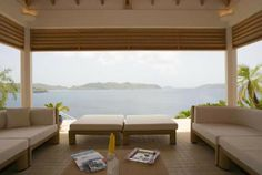 Villa Festival is a very private and spectacular villa situated on Pointe Milou, St Barts. There is an infinity pool with large heated spa d...