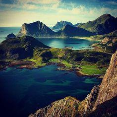 Da kann man sich einfach nicht sattsehen... Lofoten, Norway
