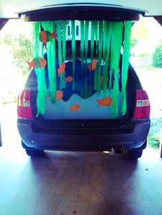 Under the Sea! Trunk or Treat idea!