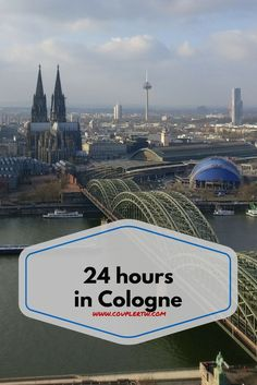 Everything you can do while 24 hours in Cologne. The magnificent Cathedral, the world famous eau de Cologne, the Cologne triangle and much more!