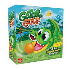 Superb Gator Golf Now at Smyths Toys UK. Shop for Childrens Board Games At Great Prices. Childrens Board Games, Games For Boys, Toys Uk, Kids Toys, Mini Golf Games, Golf Now, Toys R Us Canada, Kids Up, Putt Putt