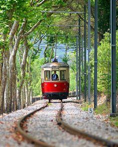 Sintra - the tram to the beach Portugal                                                                                                                                                      Mais