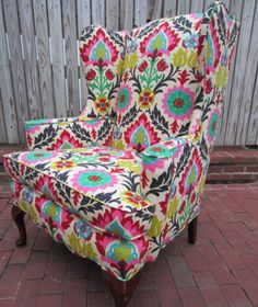 Beautiful eclectic chair
