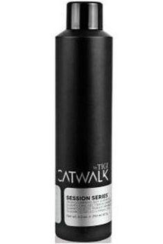 Tigi Catwalk dry shampoo. Great for between washes. Wonderful scent and adds volume.