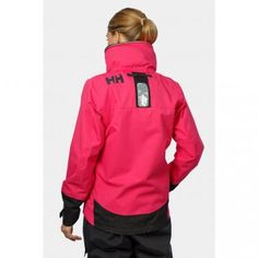 Pink Helly Hansen Sailing Jacket