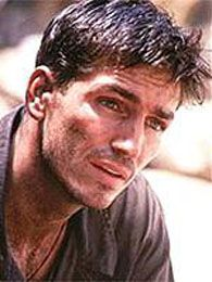 James Caviezel--from one of my fave movies, The Count of Monte Cristo. He's sortof pretty too.