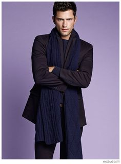 Sean OPry Models Fall 2014 Looks for Massimo Dutti image Massimo Dutti Fall Winter 2014 Sean Opry Look Book 004