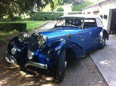 French Classic Car: 1939 - Talbot-Lago T23 Major ...