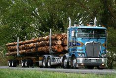 Kenworth K200 log truck