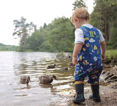 Rompers / Dungarees by HatCH Various Prints for Baby and