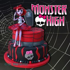 Monster High birthday cake for a 10-year old girl, For Emily Birthday check into it more later