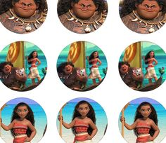 Free kids birthday party printable files Full Topper File HERE Full Scallop Topper File HERE JPG Versions available to save HERE Moana Themed Party, Moana Birthday Party, Moana Party, Birthday Party Themes, 3rd Birthday, Birthday Ideas, Moana Cupcake Toppers, Cupcake Toppers Free, Moana Printables