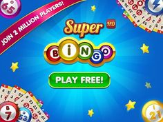 Play Super BINGO HD on Facebook, iPhone/iPad, Android or Kindle for FREE! - Explore a huge variety of Bingo rooms! - Chat in real-time with other Bingo players from around the world. https://play.google.com/store/apps/details?id=air.com.ievogames.superbingo #Bingo #Android #Games
