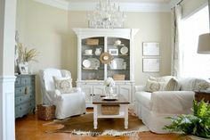 stunning white decor