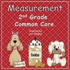 This product covers all the 2nd grade Common Core standards for measurement in an adorable puppy theme. It has I can Posters, vocabulary cards, 7 a...81pgs