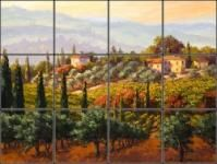 Landscapes Tile Murals, Accent Tiles and Coasters | Pacifica Tile Art Studio