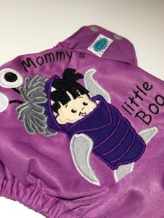 Little Boo Monsters Inc. Cloth Diaper Couches Z Diapers