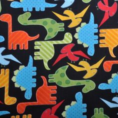 Items similar to NEW Urban Zoologie and Remix Fabric by Ann Kelle for Robert Kaufman, Dinosaurs in Bright-Fat Quarter on Etsy Dinosaur Fabric, Cute Dinosaur, Cotton Quilting Fabric, Cotton Quilts, Print Name, Robert Kaufman, Urban, Fabric Crafts, Printing On Fabric