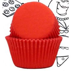 Shop online for Golda's Kitchen Baking Cups - Solid - Orange - Standard at Golda's Kitchen; the leading Canadian on-line shopping site for quality bakeware, cookware, and cake decorating supplies. Cake Decorating Supplies, Baking Cups, Shopping Sites, Cupcake, Tools, Orange, Mini, Kitchen, Red