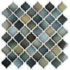 Merola Tile Hudson Tangier Atlantis 12-3/8 in. x 12-1/2 in. x 5 mm Porcelain Mosaic Tile-FKOLTR20 - The Home Depot