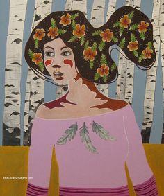 Peinture - Marina Le Floch - Sortir du bois