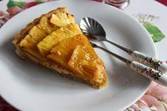 Tarta de Piña asada y Coco