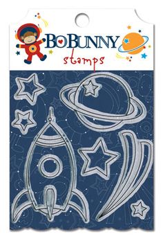 Bo Bunny: Blast Off! - Clear Stamps