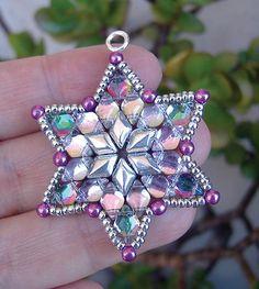 Free DiamonDuo star pattern updated for GemDuo beads!