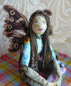 Fairy doll butterfly wings machine by cherrycottagecrafts on Etsy.