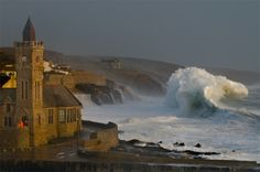 This is why Cornwall is famous for surfing!