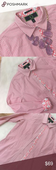 C.Wonder Signature Fit Button Down, Size Medium Authentic C.Wonder signature fit button down. Size medium. Only worn twice. The eighth picture is a different C.Wonder shirt shown for styling ideas. C.Wonder Tops Button Down Shirts