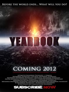 movie themed yearbook - Google Search