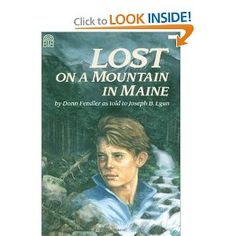 Lost On A Mountain in Maine - AWESOME BOOK!