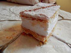 La Cocinika De Ana: Milhojas de merengue